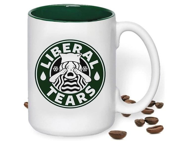 liberal tears ceramic mug