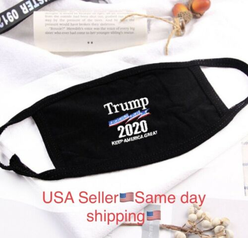 3 Pack Trump Face Mask Adult Washable, Fabric Mask...