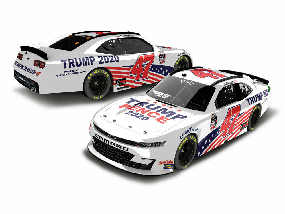 Joe Nemchek #47 Trump-Pence 2020 Camaro Xfinity Series...