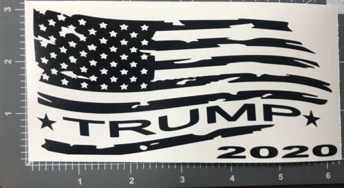 President Donald Trump Flag 2020 Vinyl Decal Sticker...
