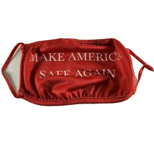 Trump Face Mask 2020 MAGA Make America Safe Again