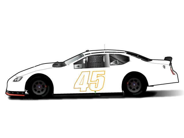 Trump NASCAR 45 Vinyl Decal