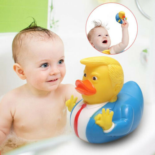 Donald Trump Rubber Duck Water Toys Bath Floats Toy...