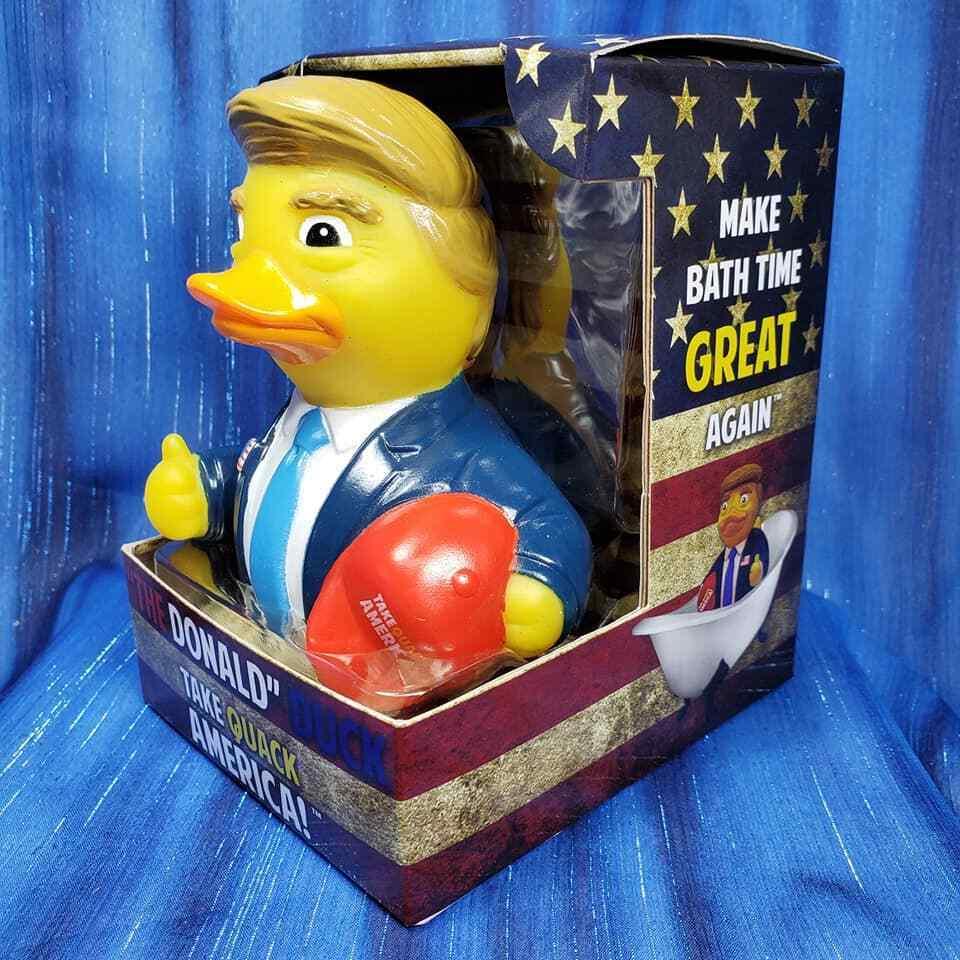The Donald Trump Rubber Duck CelebriDuck Republican...