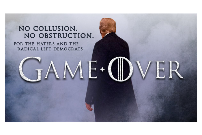 Game Over Trump Meme